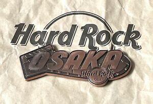 Hard Rock Cafe OSAKA HRC • destination name worldwide core series magnet • 2018