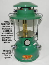 1960s-70s UNIMET LANTERN No. GL-4 GAS LAMP Made in Hong Kong Use Coleman Fuel