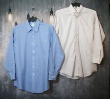 Men's Brooks Brothers Lot of 2 Button Down Shirts 16 2/3