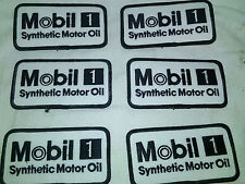 Mobil 1 SYNTHETIC MOTOR OIL EMBROIDERED PATCH IRON ON, SEW,