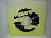 Thats Rock`n Roll Vol. 3 Rockabilly LP Rock Vinyl