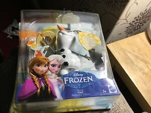 MATTEL Disney Frozen - Olaf sings with me - musical toy Box Opened Unused