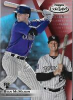 Ryan McMahon 2018 Topps Gold Label Class 1 Red 23/75 Rookie Rockies #43