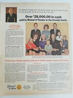 1965 Mutual of Omaha arnoldii Family Insurance vintage ad