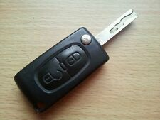 GENUINE PEUGEOT 207 206 307 ETC 2 BUTTON REMOTE KEY FOB - FULLY WORKING~
