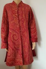 Red Cardigan Size L