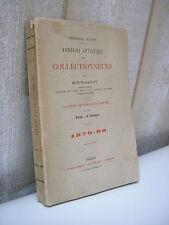 RIS-PAQUOT : Annuaire artistique des collectionneurs 1879-1880