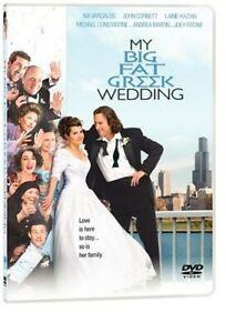 My Big Fat Greek Wedding / DVD Romantic Comedy Movie /  NEW Sealed