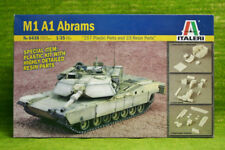M1 A1 ABRAMS BATTLE TANK Échelle 1/35 ITALERI KIT 6438 D