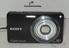 Sony Cyber-shot DSC-W350 14.1MP Digital Camera - Black 4x Optical Zoom