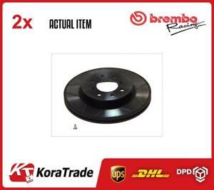 X2 PCS BRAKE DISC SET 09550975 BREMBO I