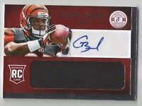 GIOVANI BERNARD 2013 TOTALLY CERTIFIED RC ROOKIE AUTO AUTOGRAPH JSY /299 BENGALS