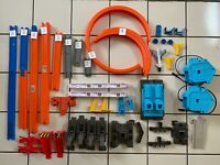 Hot Wheels Track Builder Power Booster Rocket Edition 45+ pieces No Car
