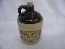 Vintage Old Wine Cellar Amana, Iowa 52203 4/5 Quart Wine Jug
