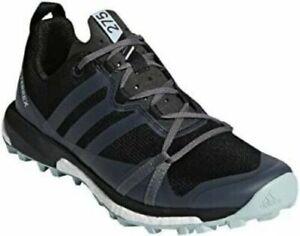 Adidas TERREX Womens AGRAVIC WOMEN'S TRAIL RUNNING SHOE Carbon Blue Size 7