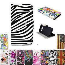 Fashion Women Men Flip PU Leather Wallet Cover Case For Sony Xperia Z2 M2 Z1 Z3