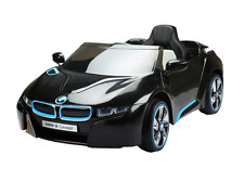 KIDS RIDE ON CAR BMW I8 12V Electric CAR Battery remote control BLACK RC NEW HOT
