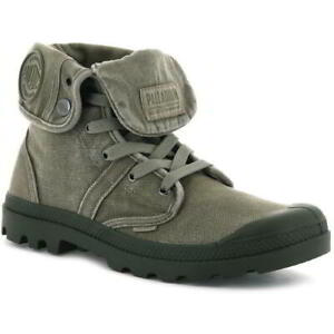 Palladium Pallabrouse Baggy Mens Canvas Combat Military Ankle Boots Size 8-11