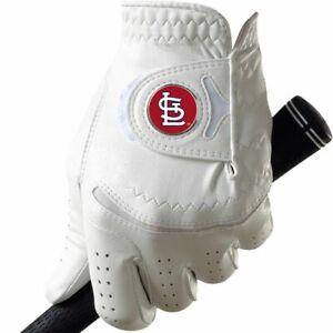 New St.Louis Cardinals FootJoy Custom Golf Gloves + Detachable Cards Ball Marker