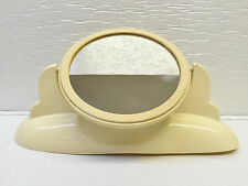 Vintage Plastic Cons-O-Lite Art Deco Vanity/Make Up Mirror Pivoting Double Sided