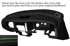 Verde Stitch Dash Dashboard Leather Piel tapa se ajusta Mitsubishi L200 K74 98-06