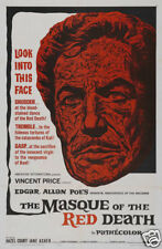 The masque of the red death Vincent Price movie poster print