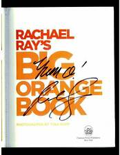 Rachael Ray signed Big Orange Book 1st printing softcover book