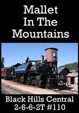 Railroad DVD: Black Hills Central 2-6-6-2T #110