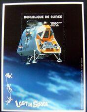 Lost In Space Stamps Souvenir Sheet Republic De Guinee Science Fiction Sci-Fi