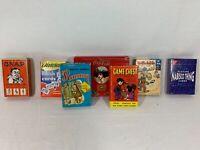 Vintage Children's/ Adult Game Cards Lot of 7 Decks