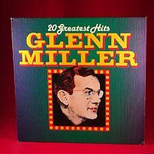 Glenn Miller 20 Greatest Hits 1984 Vinyle LP Excellent État Best De