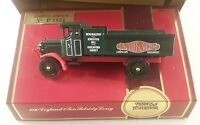 matchbox models of yesteryear boxed Y-9 1920 leyland 3 ton subsidy lorry