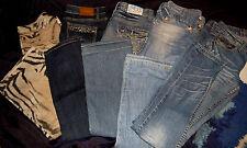 5 Marken Jeans Damen Cavalli Arizona Anastasie... Gr.38 S/M Glitzer N62