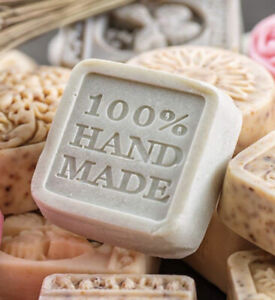 Homemade soap, SLS FREE, Gift Bag with 1 x soap - coconut scent
