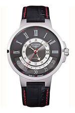 Quarz-Armbanduhren (Batterie) mit 24-Stunden-Zifferblatt und Glanz-Erwachsene