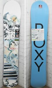 Roxy Smoothie Women's Snowboard Size 152 cm, All Mountain Directional, New 2021