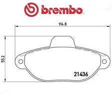 P23160 Kit pastiglie freno, Freno a disco (MARCA-BREMBO)