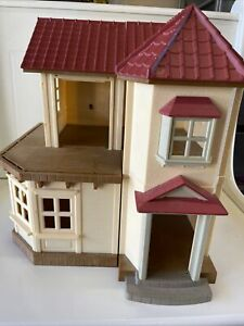Calico Critters Red Roof Big Town House Town Home HOUSE ONLY -SHELL