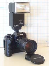 Pentax Super A Fotocamera la raccolta con zoom, Winder, strobo, accessori!!! OVP!!!