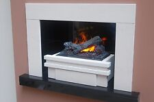 """THE PALAWAN - SUPERB HOLE IN THE WALL FIREPLACE WITH INCREDIBLE """"OPTIMYST"""" FIRE"""