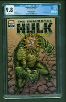 Immortal Hulk #19 CGC 9.8 Unknown Comics Edition Variant Cover Schoonover Cover