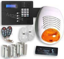 Kit allarme GSM professionale 868mhz Centralina Sirena esterna sensori wireless