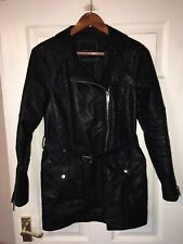 Women NEW LOOK faux leather jacket size 8