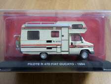 FIAT DUCATO CAMPER PILOTE R 470 IXO 1/43 IN BLISTER (NO IVECO OLD CARS NZG)