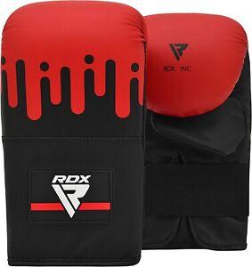RDX Bag Gloves Punching Boxing Training Sparring Mitts Muay Thai Kickboxing