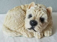 New ListingRetro Resin West Highland White Terrier Dog Puppy Figure