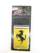 1PC NEW Metal car badge logo aluminum stickers fit for Ferrari