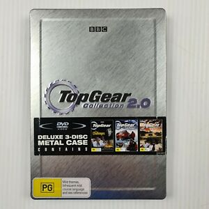 Top Gear Collection 2.0 - 3 Disc Set Metal Case - Region 4 - TRACKED POST