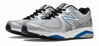 Factory Second New Balance Men's 1540v2 Shoes Silver with Blue