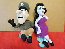 Rocky and Bullwinkle Cartoon Characters Natasha Fatale Fearless Leader